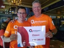 Almeloopers halen recordbedrag op tijdens Roparun