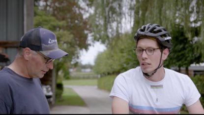 """Stig Broeckx verlegt opnieuw zijn grenzen in 'Bargoens': """"Kijk eens, hij kan fietsen"""""""