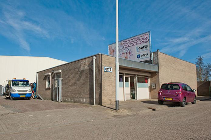Het pand van Aarts in Eindhoven