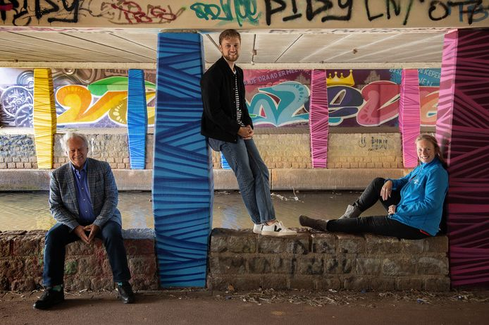 Rob van Otterdijk, Robin Boom en Karen Denton (vlnr).