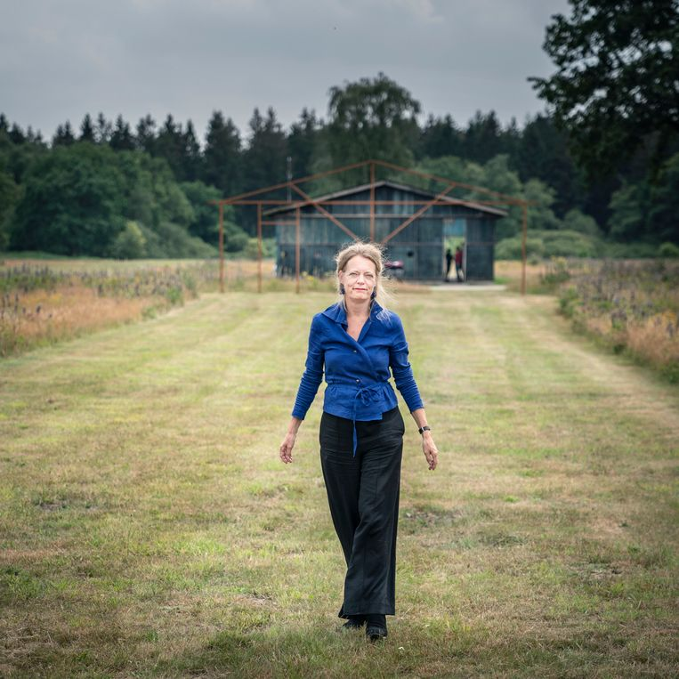 Gerdien Verschoor, de nieuwe directeur van Herinneringscentrum Kamp Westerbork. Beeld Reyer Boxem