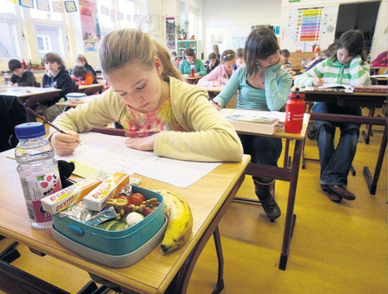 Montessorischool De Wielewaal in Amsterdam-Zuid. Foto Peter Elenbaas Beeld