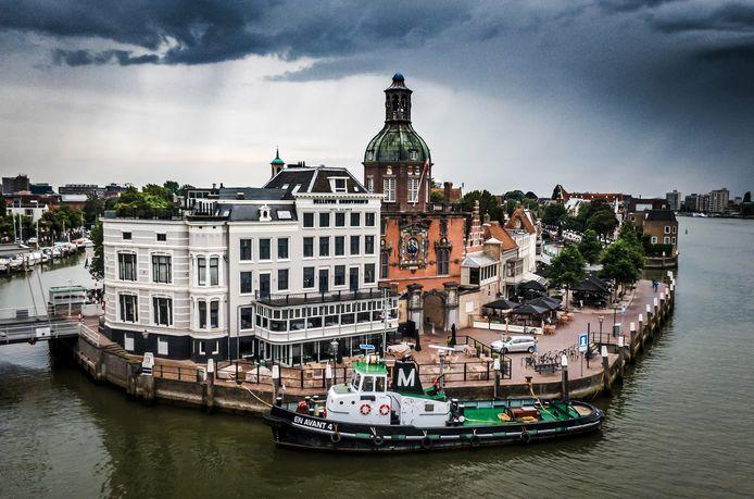 Hotel restaurant Bellevue in Dordrecht is failliet.