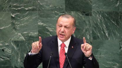 Erdogan haalt uit naar VS tijdens algemene vergadering in New York