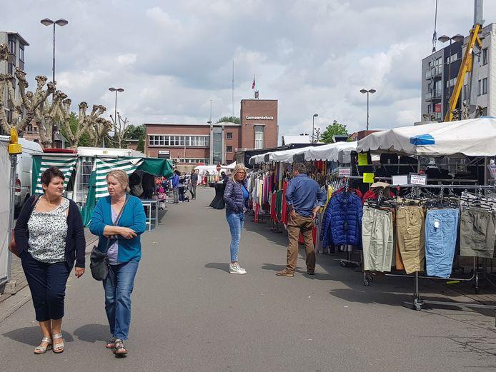 Marktdag in Zelzate.