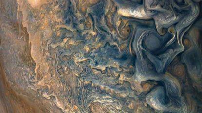 Kunst uit de ruimte: NASA geeft adembenemende foto van Jupiter vrij