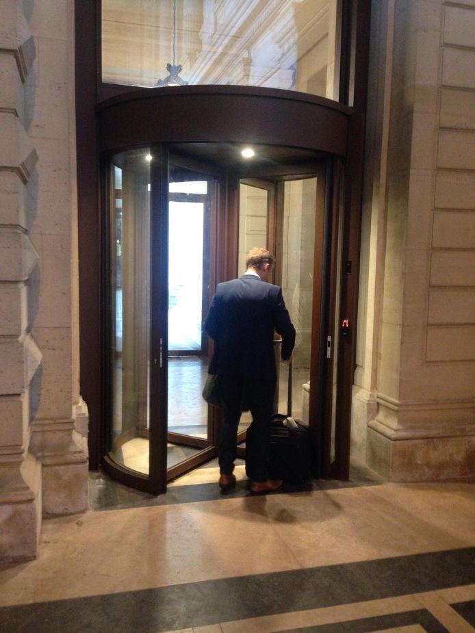 La nouvelle entrée sécurisée réservée aux avocats et aux magistrats est ouverte depuis ce mardi.