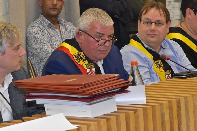 Installatievergadering gemeenteraad Menen Burgemeester Eddy Lust