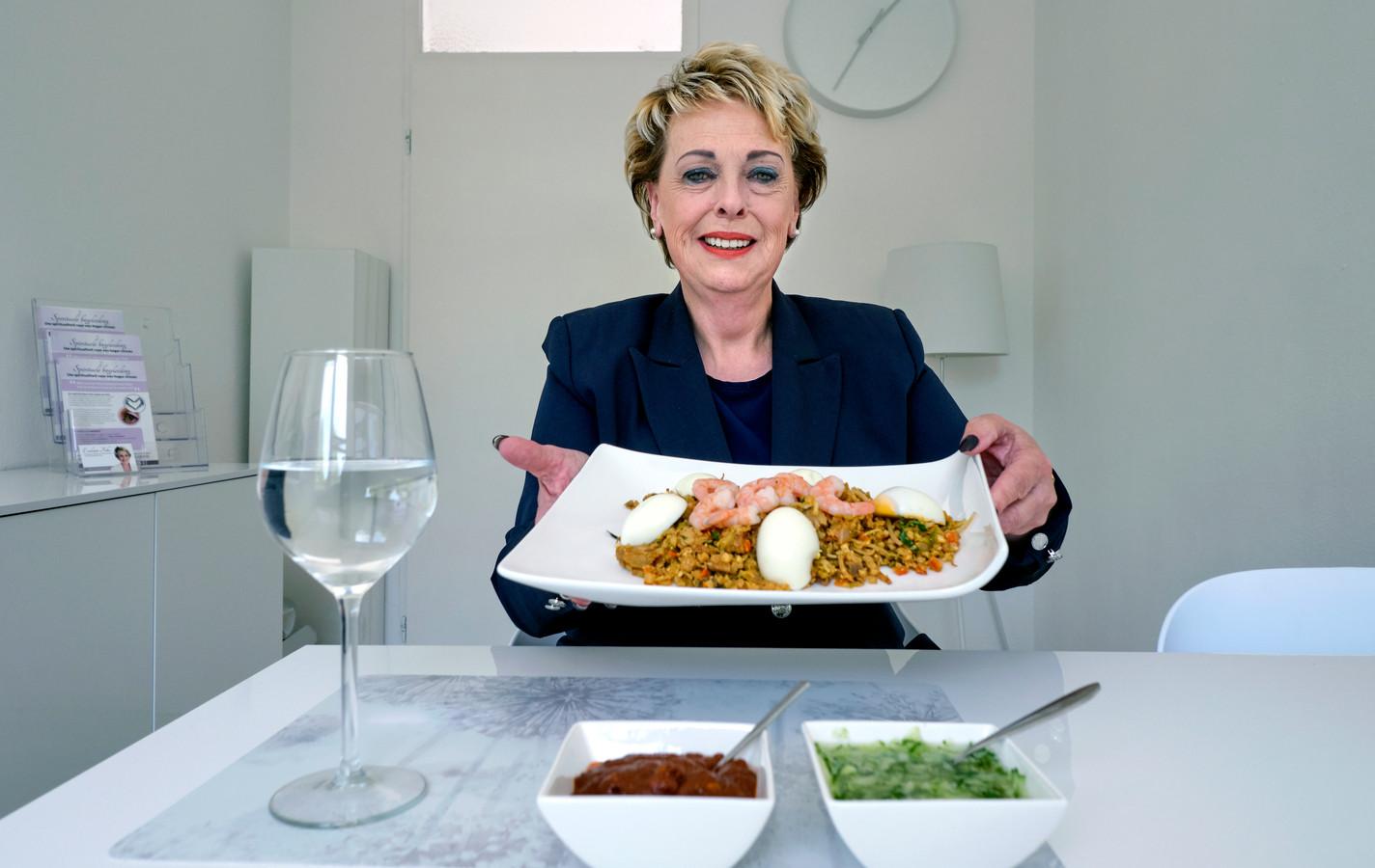 """,Als je net zo hoogsensitief bent als ik, moet je letten op een gebalanceerde voeding"""", vindt Evelien Foks."""