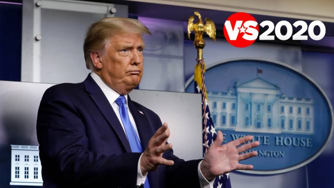 """Trump weigert vredevolle overdracht van de macht te garanderen: """"We zullen zien wat er gebeurt. We moeten van de stembiljetten af geraken"""""""