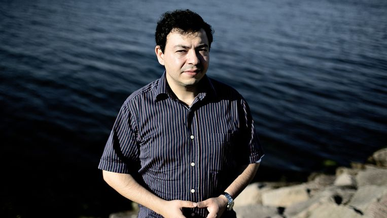De Deense moslim Ahmad Akkari. Beeld ap