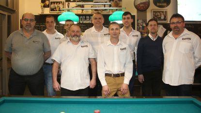 Kampioenentitel voor team Golfbiljart van American Poolbar