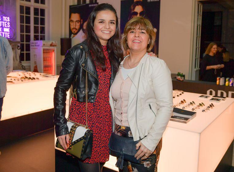 Marthe en haar mama Christel