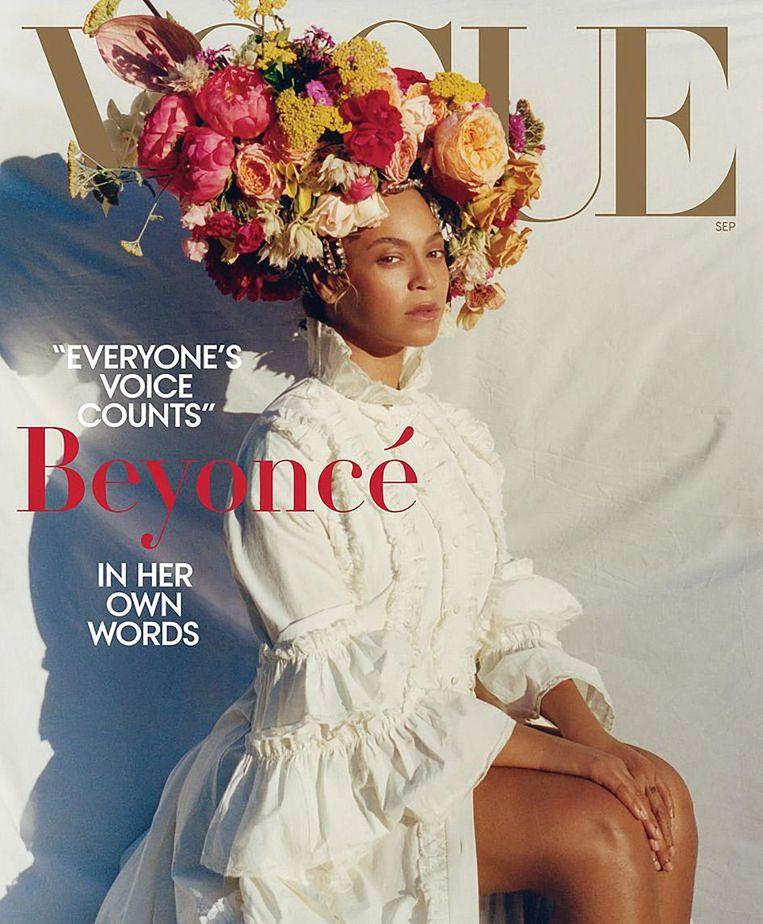 De cover van Vogue met Beyoncé Beeld Tyler Mitchell
