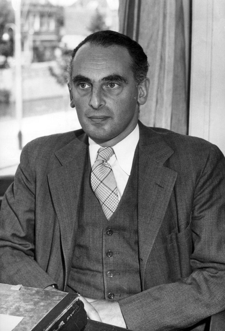 Futuroloog Fred Polak Beeld HH