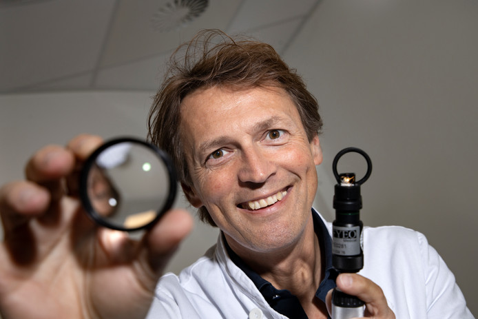 """Frank Kerkhoff: ,,Ik doe het niet alleen, er zit een heel team van specialisten achter."""" foto René Manders"""