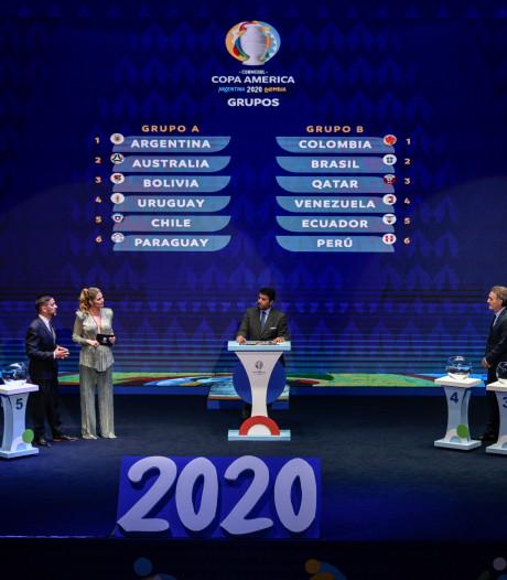 Loting Copa América: Australië in groep-Argentinië, Qatar bij Brazilië