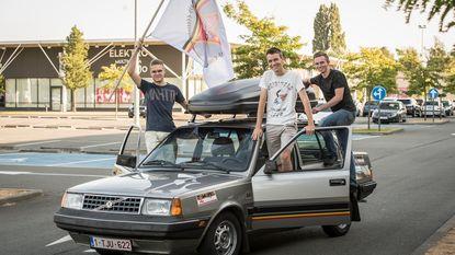 Hollywoodwagens racen naar Hongarije