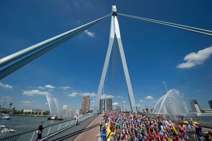Rotterdam was in juli 2010  de startplaats van de Tour de France. De gemeente hoopt dat in 2023 weer te kunnen zijn.