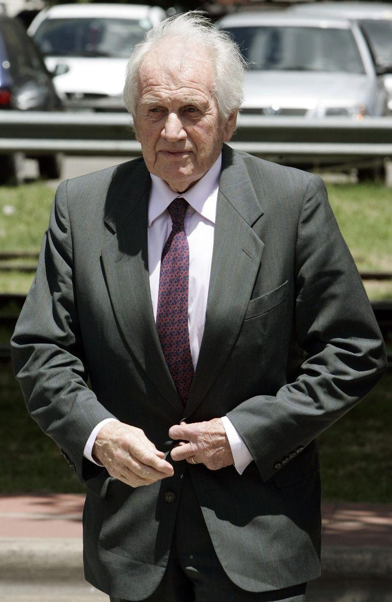 Jorge Zorreguieta in 2005. Beeld anp