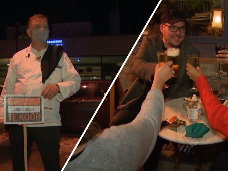 Horeca in België komende maand op slot