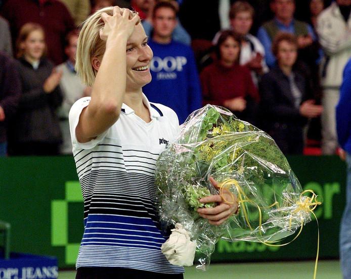 Jana Novotna in 1999.