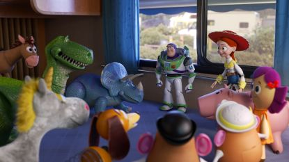 Toy Story 4 passeert in week half miljard dollar