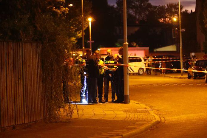 Man doodgeschoten in de Sionstraat.