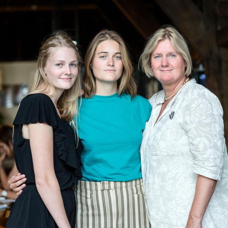 Jos Koopman-Tanis (rechts):