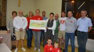 Duvelloop brengt 800 euro op voor voedselbank