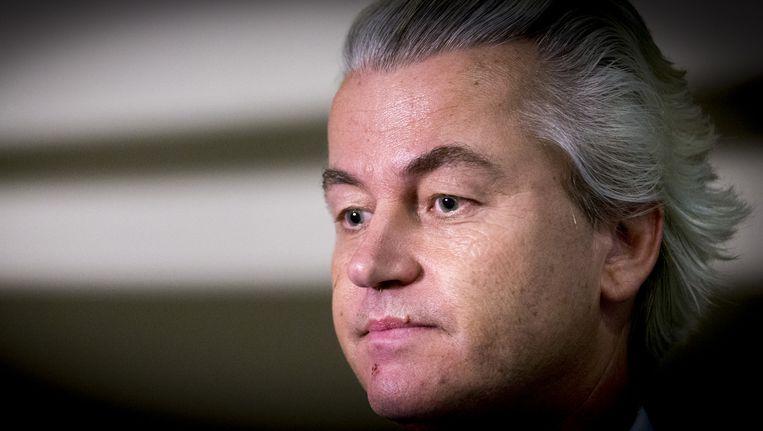 PVV-leider Geert Wilders Beeld anp