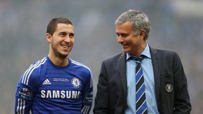 De charme van Eden Hazard: lof van Jose Mourinho en anonieme fan betaalt 8.000 euro voor speciaal spandoek