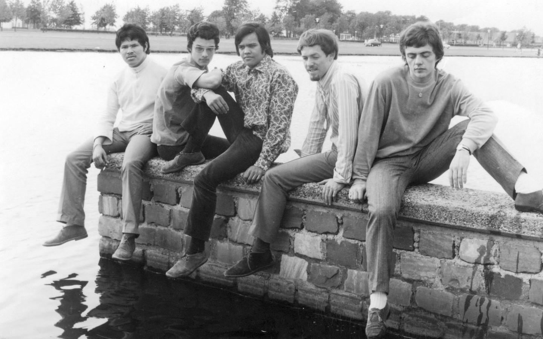 Blaze in de jaren '60, met rechts drummer Huub van Oss.