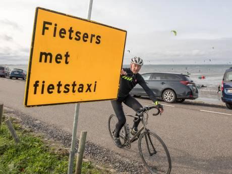 Fietstaxi op afgesloten Oesterdam? In het weekend kun je wachten tot je een ons weegt
