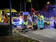 Noodoperatie op straat voor zwaargewonde fietser in Bladel