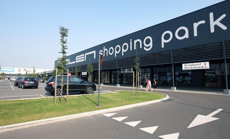 Het shopping Park in Olen krijgt te maken met sluipverkeer