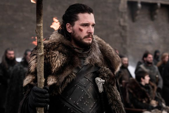 Kit Harington als Jon Snow in 'Game Of Thrones'.
