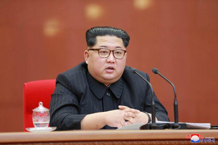 De Noord-Koreaanse leider Kim Jong-un. Archieffoto.