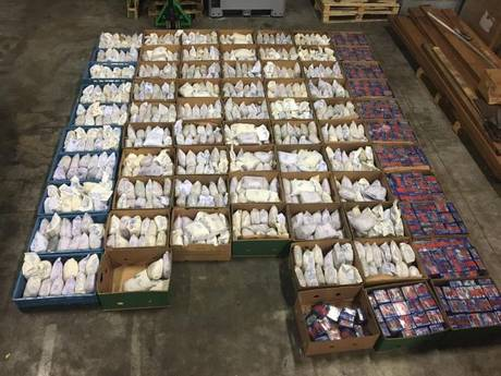 1.100 kilo heroïne in bakmachines uit Iran bestemd voor Heijen