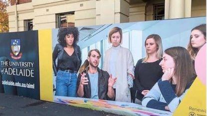 """Universiteit biedt nu ook Master in 'Mansplaining' aan"": reclameposter botst op felle kritiek"