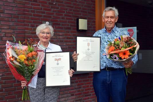 Piet en Toos van den Wijngaard Lintjesregen 2020 Etten-Leur