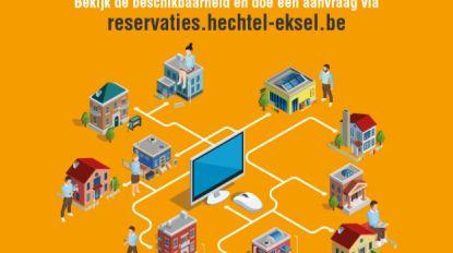 Zalen in Hechtel-Eksel reserveer je voortaan online