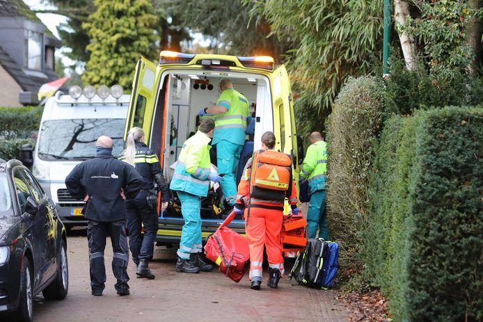 Het slachtoffer is met spoed naar het UMC in Utrecht gebracht.