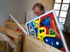 Schildercursus in het Gorcums museum in 'de stijl van de meester'