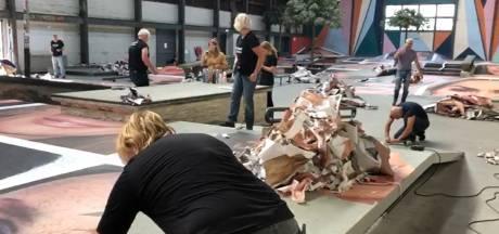 Verwijdering omstreden fotoproject Destroy My Face in Breda begonnen