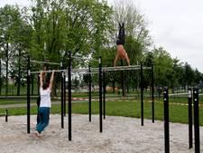 Je eigen lichaam liften in Veenendaals stadspark