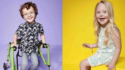 Kinderen met een beperking zijn de grote ster in de nieuwe campagne van River Island