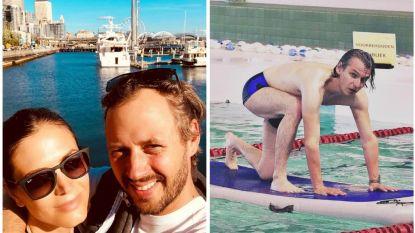 SHOWBITS. Astrid en Bram gaan op roadtrip en Wim Oosterlinck verliest zijn evenwicht in het zwembad
