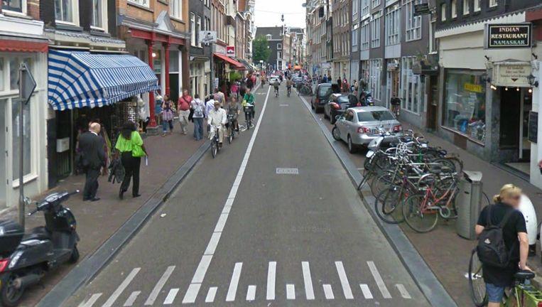 De Haarlemmerstraat Beeld Google streetview