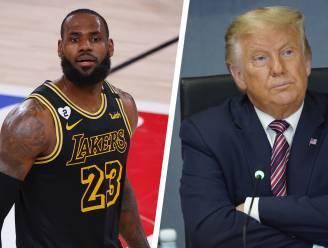"""Trump reageert op uitgestelde basketduels: """"NBA is politieke organisatie geworden"""""""